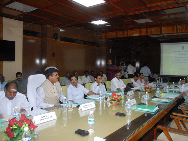 Image of Meeting of State Planning Board to discuss on the formulation of the Draft Annual Plan 2014-15