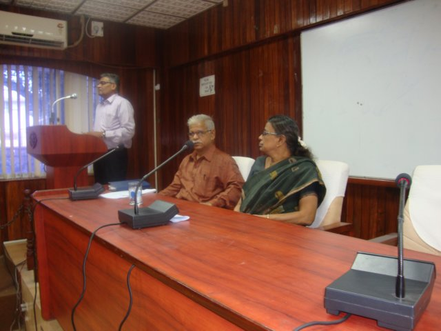 Pay Roll Savings Meeting held at Conference Hall of Planning and Research Department on 04.12.2013. Thiru B. Raju Babu, Regional Director, NSI, Chennai and the Deputy Director, NSI, Chennai conducted the meeting