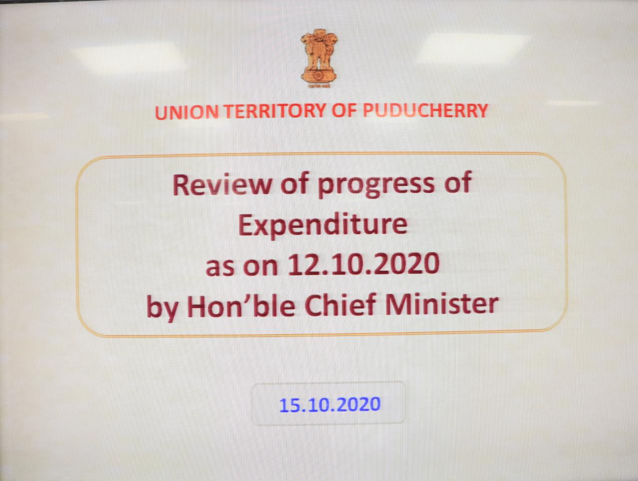 Expenditure Review Meeting